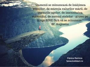 _Oamenii se minunează de înălţimea munţilor,