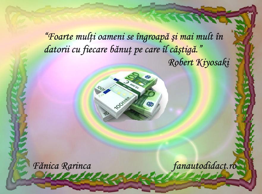 citate despre câștigarea de bani pe internet)