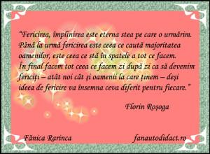Florin Rosoga fericirea