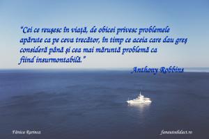 Anthony Robbins problemele vazute de cei ce reusesc sau dau gres