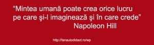 Napoleon Hill ce poate crea mintea