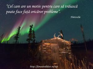 Nietzsche motiv sa traiasca