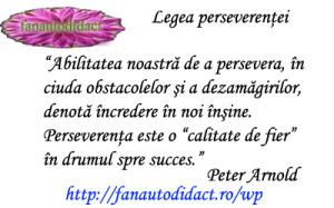 Legea perseverentei